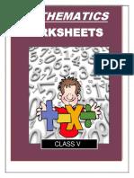 Class 5 Maths Whole Book