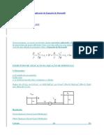 Exercícios resolvidos de aplicação da Equação de Bernoulli.docx