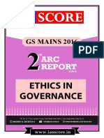 Ethics in Governance - 2nd ARC Report - GS Score