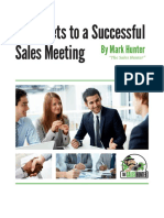 10 Secrets to a Successful Sales Meeting