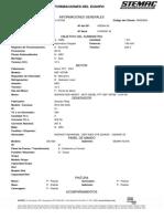 Informaciones Del Equipo ST0140004116