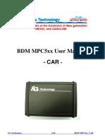 Fgtech Bdm Mpc5xx User Manual Car
