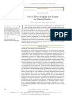 Use of Liver Imaging and Biopsy in Clinical Practice