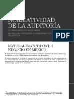 Normatividad de Auditoría Tema i