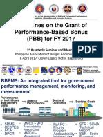 2017 PBB Guidelines