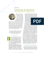 The Evolution of Creativity and the Crea