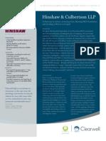 A Case Study - Hinshaw & Culbertson LLP