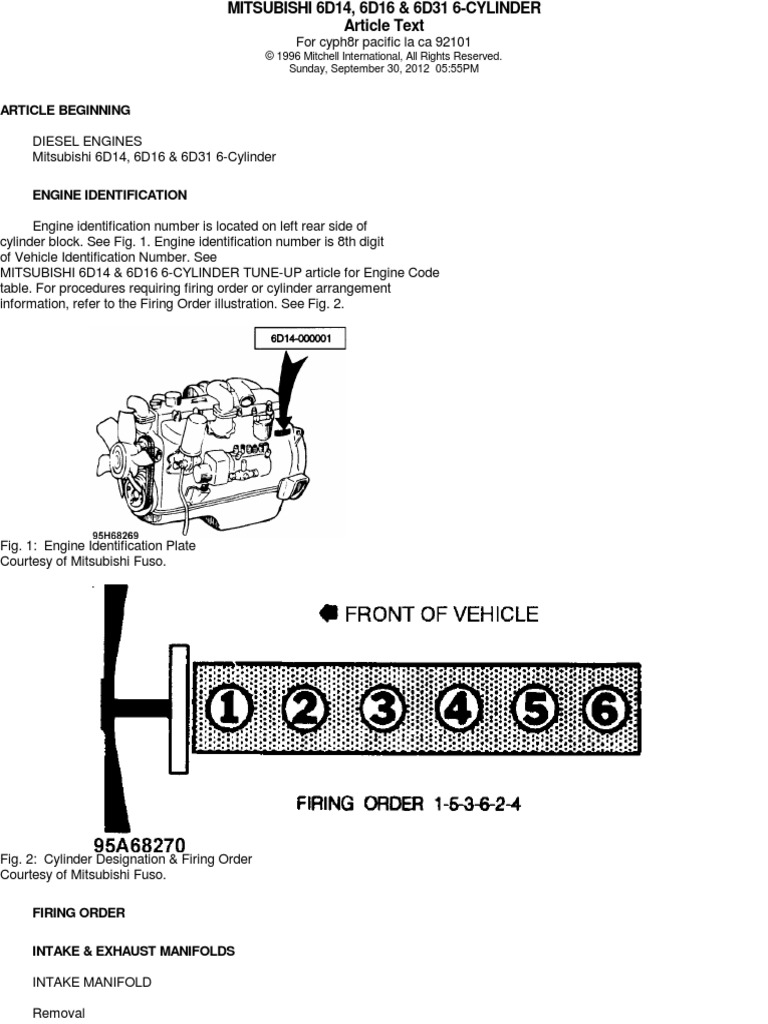 especificaciones mitsubishi 6d16 cylinder engine piston rh scribd com Mitsubishi Montero Engine Manual 1997 Mitsubishi Montero Sport Manual