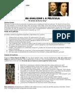 Guia Para Analizar La Pelicula Dorian Grey