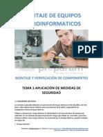 Microfomatico y Su Montaje