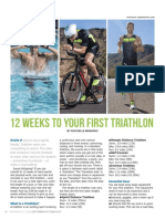 12 Weeks To Your 1st Triathlon