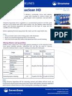 Guidelines Aquaclean HD 05-2017