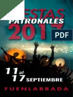Programa Fiestas de Fuenlabrada 2017