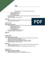 PC Version Info