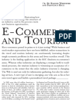 CACM - E-commerce and Tourism