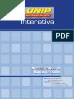 Administração de Banco de Dados_Unidade I