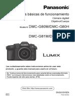Dmc-g80 Dmc-g81 Bm Es