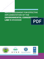 UNDP MM Needs Assessment Environmental Conservation Law Web