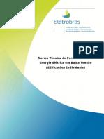 Norma Tecnica NDEE02 - Fornecimento de Energia Eletrica em Baixa Tensao -Edificacoes Individuais.pdf