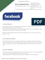 10 Truques Para Deixar o Facebook Fera!