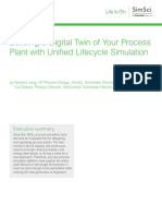 WhitePaper SE LIO SimSci UnifiedLifecycleSimulation 05 17
