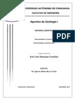 Apuntes de Geologia 1