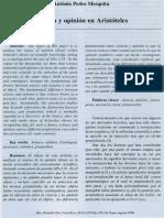 Ciencia y opinion en aristoteles.pdf