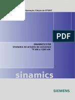 SINAMICS S150 Operating Instructions 0707 Eng