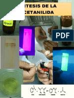 Informe química orgánica II Síntesis de  Acetanilida