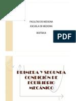 Biofisica Equilbrio, Torque, Fzas