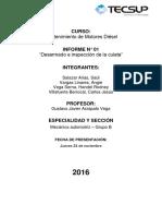 informe N° de MMD
