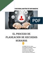 El Proceso de Planeacion de Rrhh - Completo