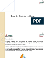 Tema 1. Quimica Del Fuego