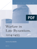 21. Warfare in Late Byzantium 1204 1453 by Savvas Kyriakidis