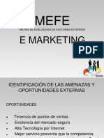 Mefe e Marketing