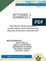Actividad 3, Evidencia 1.
