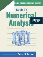 (Macmillan Mathematical Guides) Peter R. Turner (Auth.)-Gui