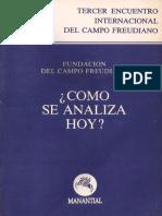 FCF - Cómo Se Analiza Hoy