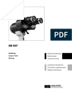 Haak-Streit Slitlamp BM900 - User Manual