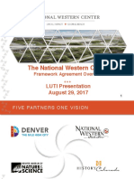 The National Western Center Framework Agreement Overview