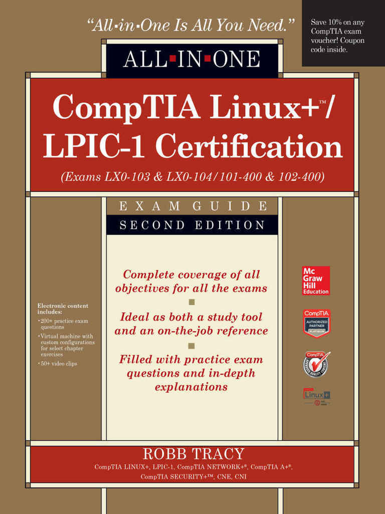 Comptialinux lpic 1certificationall in oneexamguideepub comptialinux lpic 1certificationall in oneexamguideepub linux comp tia fandeluxe Choice Image