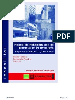 Manual Rehabilitacion De Estructuras Hormigon Reparacion