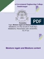 moisture regain