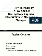 ACERTTM Technology for C7 and C9On-Highway Engines Introduction to Mechanical Changes