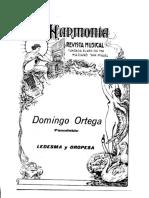 Domingo Ortega - Ledesma y Oropesa _pasodoble