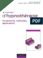 Traite d'Hypnotherapie - Antoine BIOY _ Didier MICHAUX