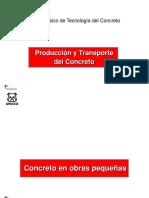 6-Producción y Transporte Del Concreto