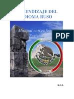 Manual Basico Del Idioma Ruso Enfocado Al Turismo