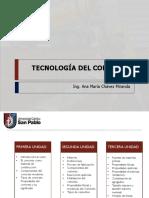 Clase 1 - Tecnologia Del Concreto