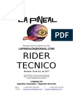 Rider Tecnico - La Pineal - A. Gonzalez